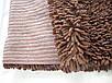 Коврик для ванной хлопковый, 70*100см. цвет коричневый. Коврик для ванной хлопок купить, фото 8