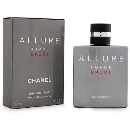 Chanel Allure Homme Sport Eau Extreme туалетная вода 100 ml. (Шанель Аллюр Хом Спорт Еау Экстрим), фото 2