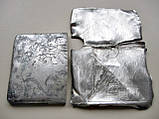 Лом Серебра 84 пробы Портсигар 66.35 грамма, фото 10
