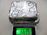 Лом Серебра 84 пробы Портсигар 66.35 грамма, фото 8