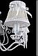 Люстра классическая  L29370A/5 (WT+SL), фото 7