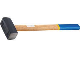 Кувалда, 7000 м, ковані головка, дерев'яна ручка // СИБРТЕХ 10934