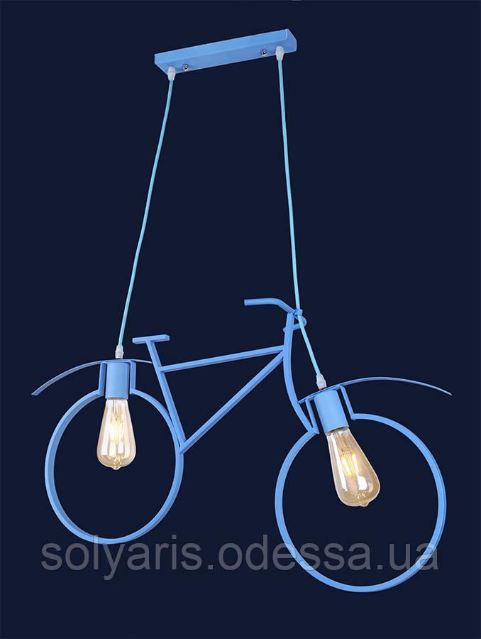 """лофт подвес велосипед """"756PR7021-2 BLUE"""