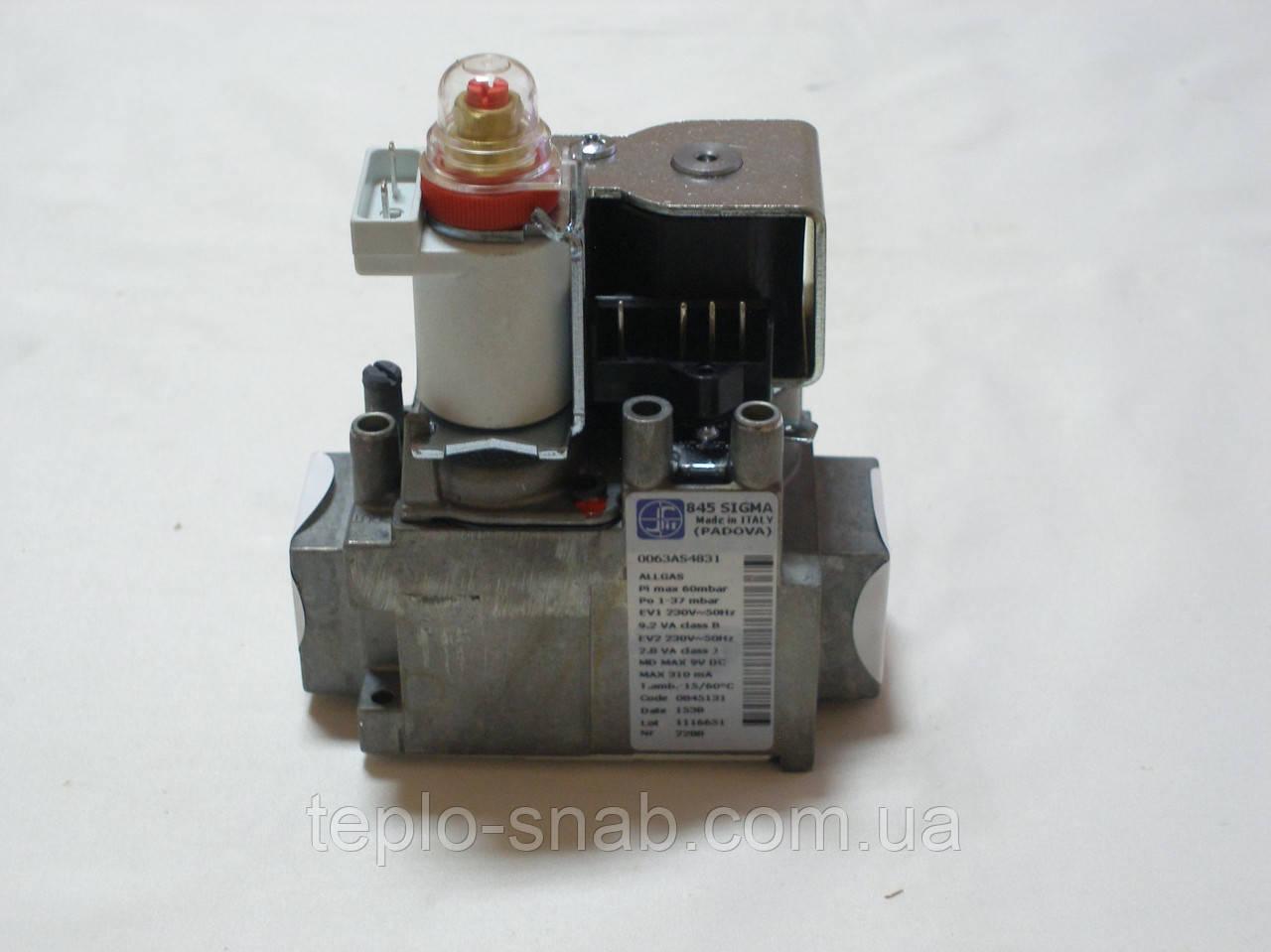 Газовый клапан Sit Sigma 845 048 газового напольного котла Baxi Slim, ECO-3 . 5653610.
