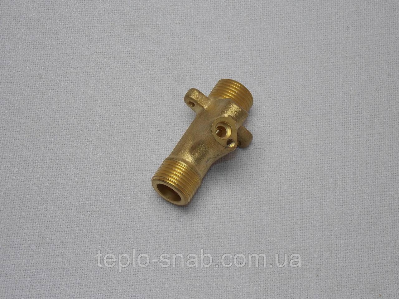 Ліва гідравлічна група (вузол подпидки) газового котла Solly H Standart (турбированная версія) 4700990155