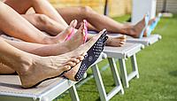 Невидимая пляжная стелька-Обувь New Summer Nakefit!Скидка