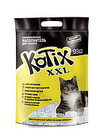 Kotix (Котикс) силикагелевый наполнитель для лотков кошек 10 литров.