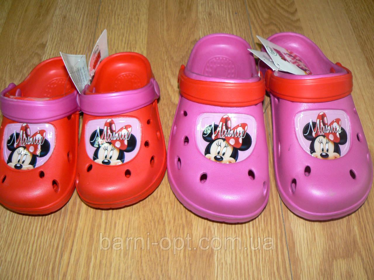 Шлепки детские, Disney, 23-34 рр