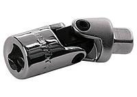 """Шарнір карданний з квадратом 1/2"""", CrV, полірований хром// MTX MASTER"""
