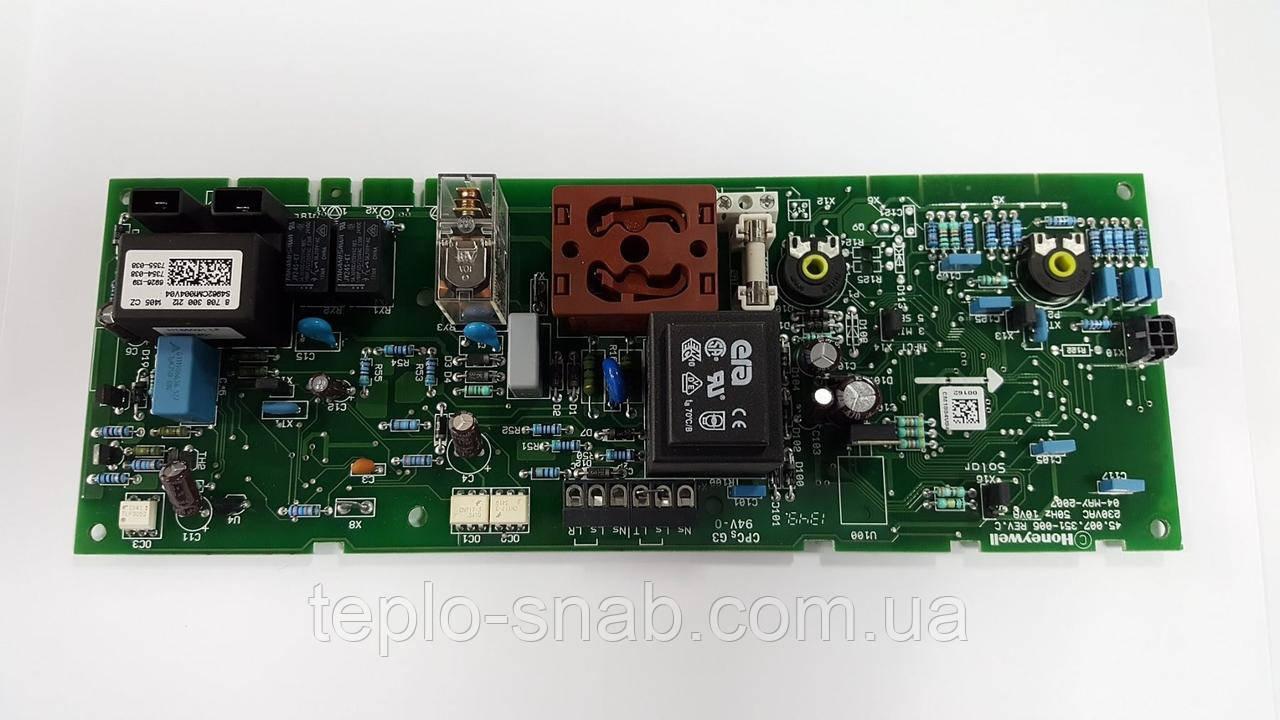 Плата Junkers / Bosch ZW23-1AE/KE (новая модель Euroline). 8708300212 ( Honeywell S4962CM)