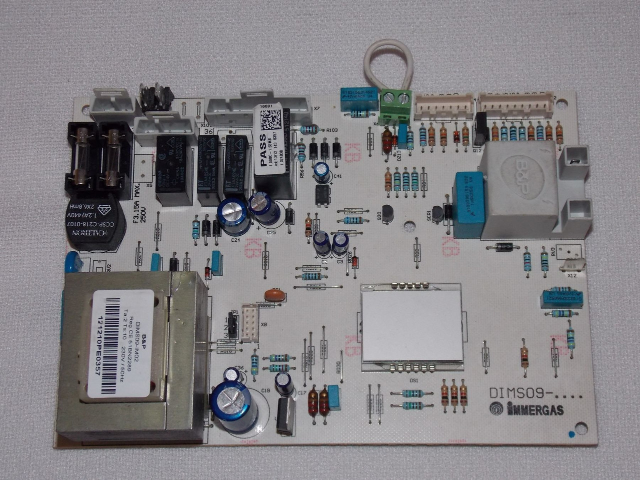 Плата управління Immergas Nike,Eolo Mini 23 KW - 1.024038
