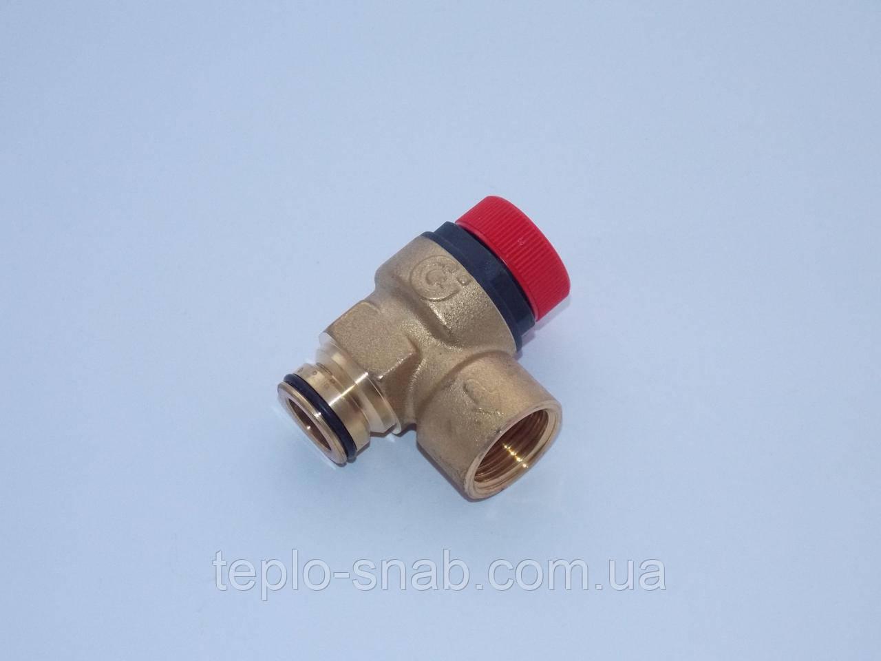 Предохранительный клапан (3 бар.) Ariston UNO, Microgenus Plus. 65103222 (ст. 997088)