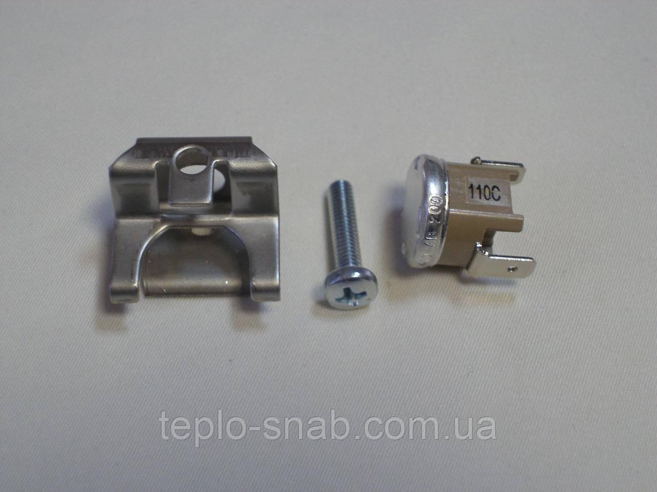 Запобіжний термостат по перегріву теплоносія 110°С газової колонки Junkers WR,ZW,ZWE. 8717206162
