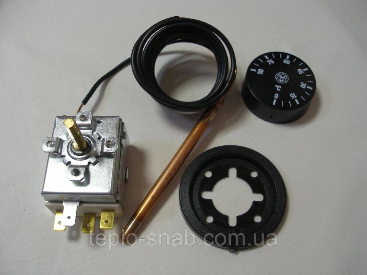 Регулировочный термостат (рабочий) температуры теплоносителя газового напольного котла. IMIT. 540355