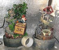 Фонтан комнатный садовый  гномики