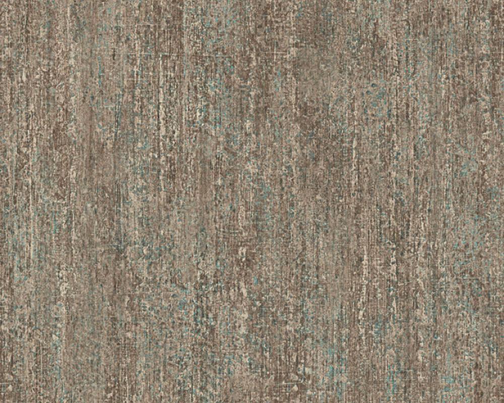 Обои виниловые, коричневого цвета под старую стену 325257