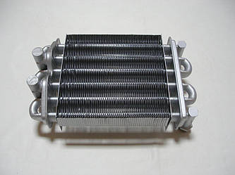 Теплообменник битермический Maxi Boilers 18 SE. (185*180 мм., без отверстий под температурные датчики).