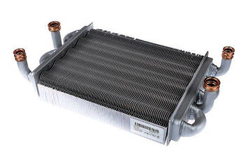 Теплообменник битермический газового котла Westen/Baxi Main 5 14 F, Main 5 18 F, Main 5 24 F. 710537600