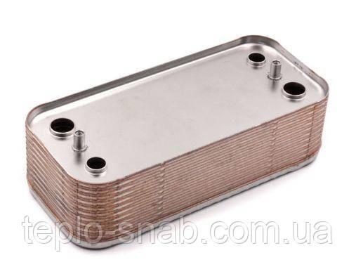 Теплообменник вторичный для газового котла Imergas Major kw, Superior (22 пластины). 3.015360