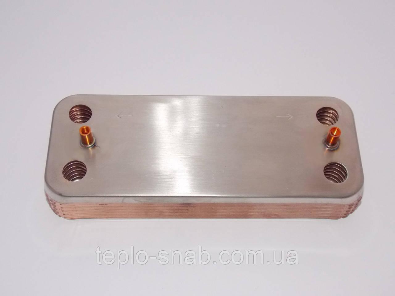 Теплообменник вторичный газого котла Biasi Delta, Inovia, Rinnova 12пл. BI1181122