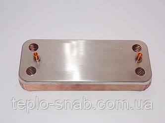 Теплообменник вторичный Ariston Uno. 995945. 61302409