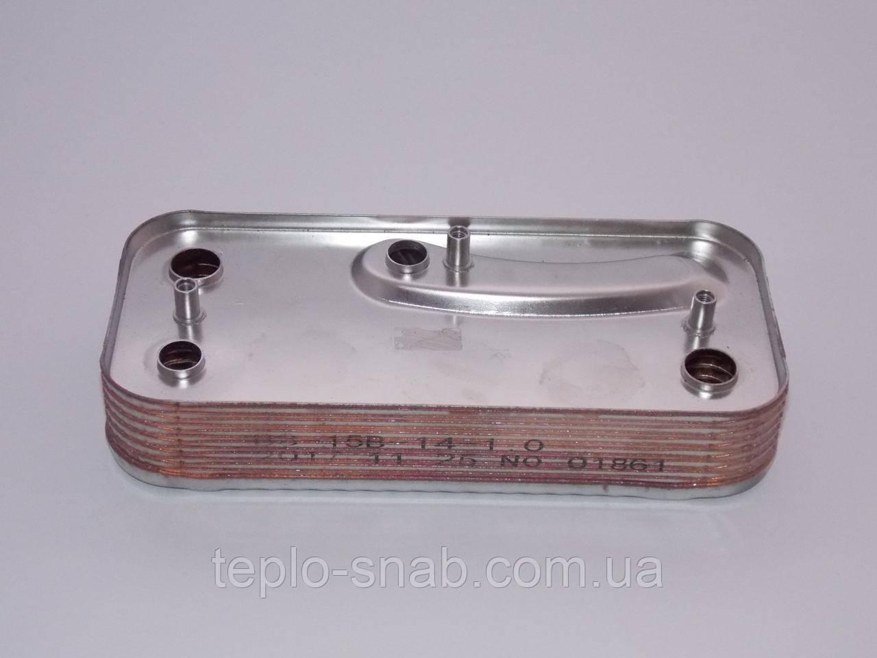 Теплообменник вторичный 14 пл Sime FORMAT.ZIP BF, FORMAT DEWY.ZIP. 6281522