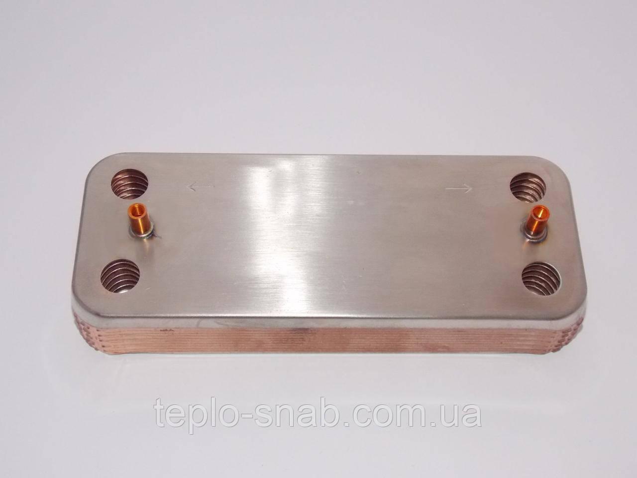 Теплообменник вторичный Zoom Master BF/Expert BF 18-24 kw (FUGAS), Solly Primer, Grandini D324 - B2 12 пл. Aa10110001