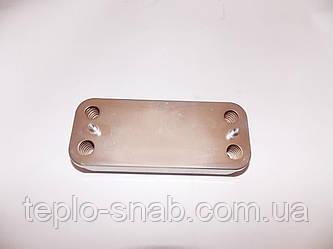 Теплообменник вторичный Buderus Logamax U002/U004/U102/U104. 10 пл. 7101160