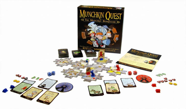 Настольная игра Манчкин Квест (Munchkin Quest), фото 2