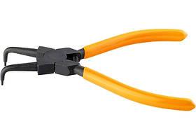 Зйомник, 150 мм, для внутрішніх стопорних кілець, вигнуті губки (стискання)// SPARTA
