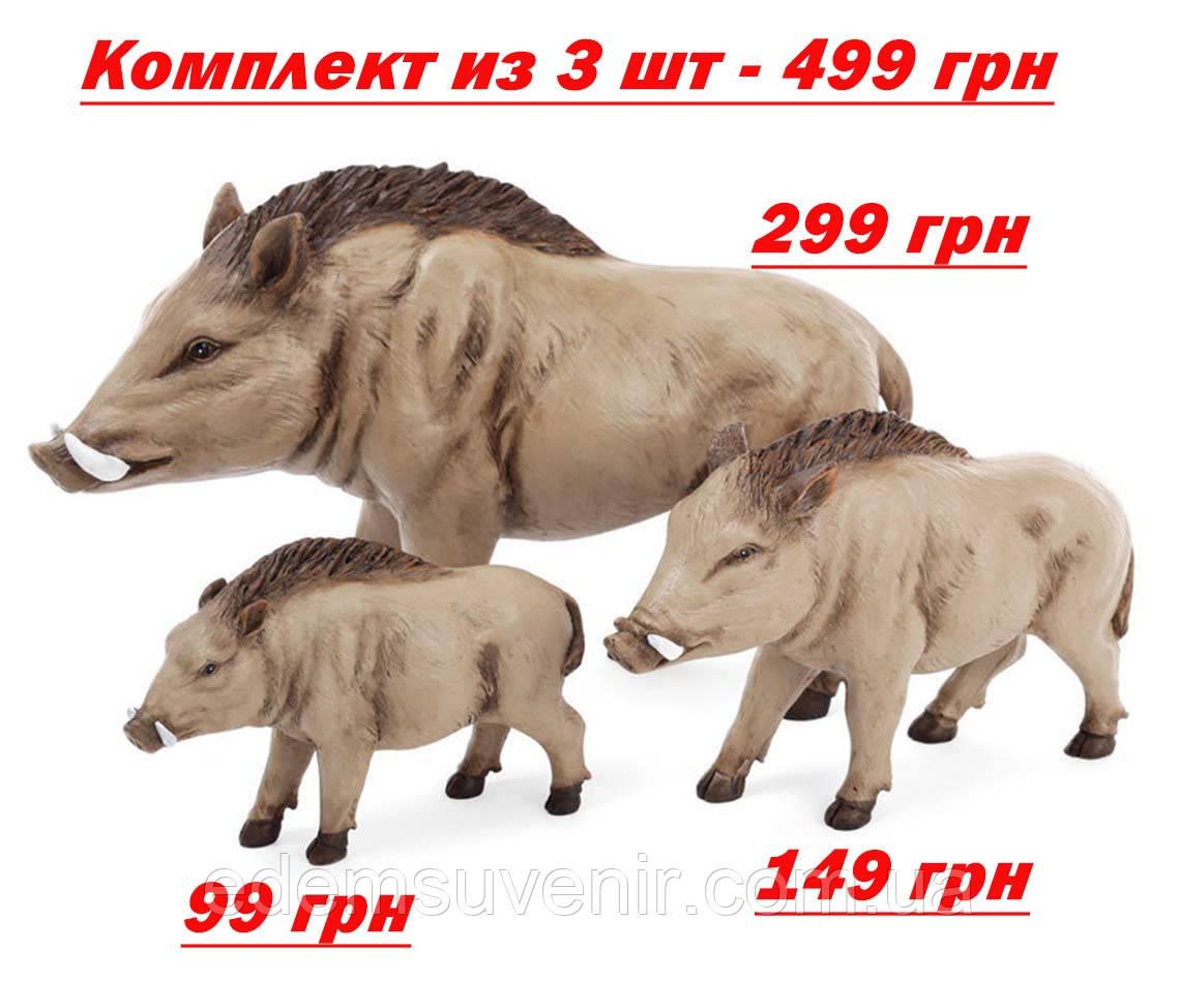 Статуэтки декоративные Семья Кабанчиков