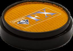 Аквагрим Diamond FX основний жовтий золото 10g