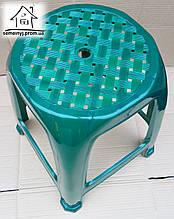 Стул, табурет пластиковый Полимер (зеленый) С007