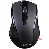 Мышь беспроводная A4 Tech G9-500FS Black Silent click (бесшумный клик), фото 1