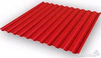 Кровельный профнастил ПК-20, красный, тол.0,35 мм