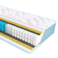 Ортопедичний матрац з незалежним пружинним блоком Extra Fitness Sleep&Fly ЕММ