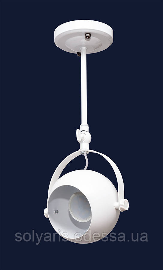 Накладной светильник лофт 7521209-1A  (черный,белый)