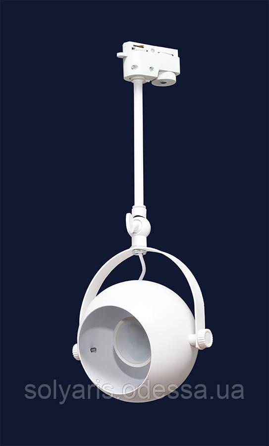 Прожектор на треке 7521209-1B  (трек) (черный,белый)
