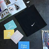 Зимовий ФЛІС  хомут Nike чорний