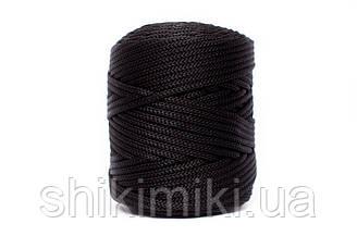 Полипропиленовый шнур PP Cord 5 mm, цвет Черный