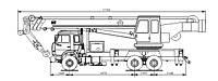 Автокран 32 тонны (КС-5576К)