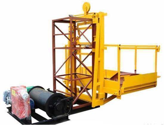 Висота підйому Н-57 метрів. Будівельний підйомник, вантажні будівельні підйомники 1 тонна, 1000 кг.