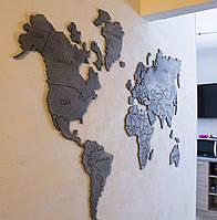 Карта мира на стену