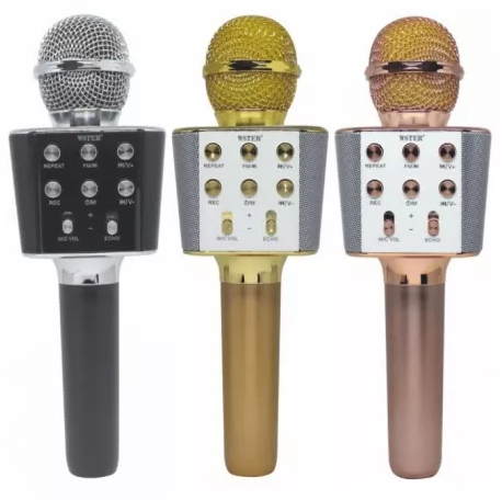 Беспроводной Bluetooth микрофон караоке WSTER WS-1688