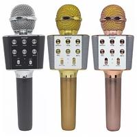 Беспроводной Bluetooth микрофон караоке WSTER WS-1688, фото 1