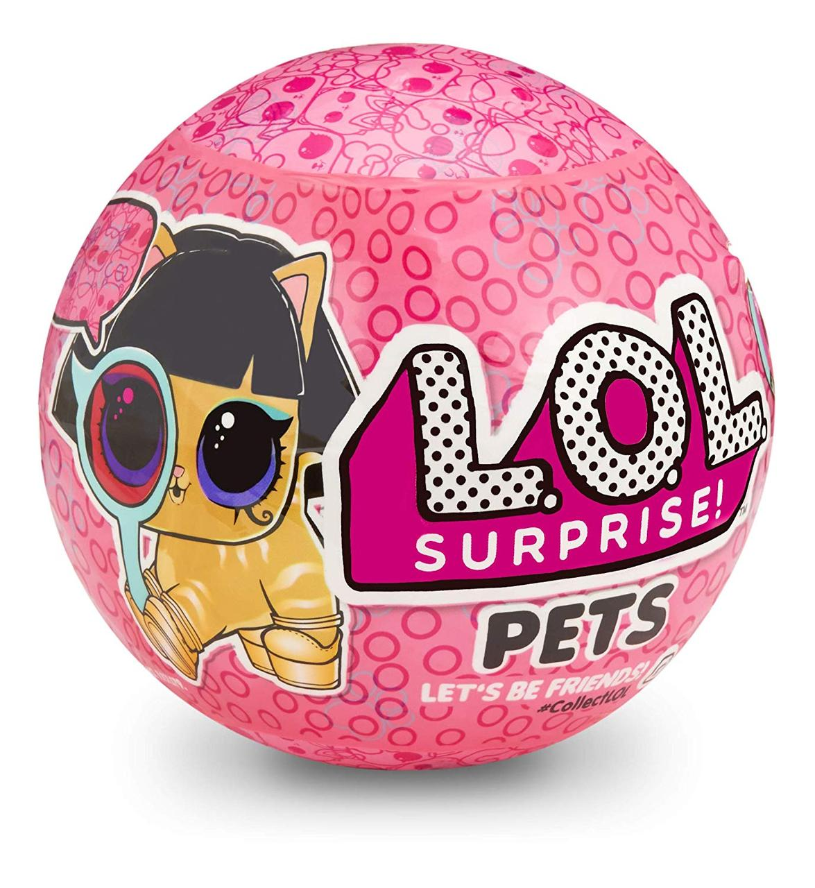 Кукла Лол Питомцы S4 шпионы декодер 2 волна L.O.L. Surprise! Pets Ball Series 4 Collectible