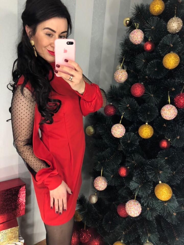 5f486be12 Красивое платье с эффектным вырезом и бантом на спинке расцветки арт-0373 -  Интернет-