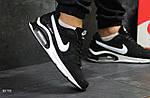 Мужские кроссовки Nike Air Max (черно-белые), фото 2
