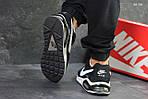 Мужские кроссовки Nike Air Max (черно-белые), фото 4