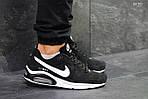 Мужские кроссовки Nike Air Max (черно-белые), фото 5